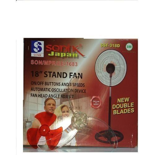 Standing Fan ( New Double Blades)
